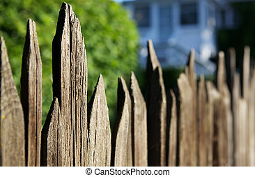 Old Spikey Fence