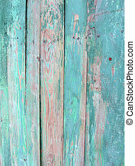 vintage green wood wall