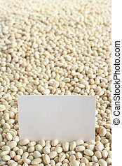 Raw navy beans (haricot beans, Boston beans, pea beans,...