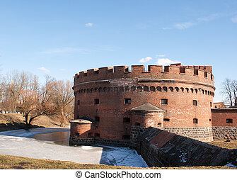 old historic fortress