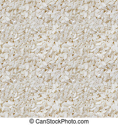 Rice polished. Seamless texture