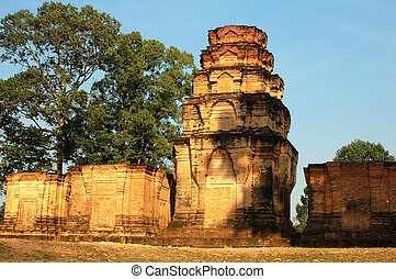 Ruins at Angkor, Cambodia