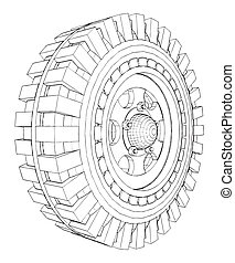 Jeep Wheel Tire