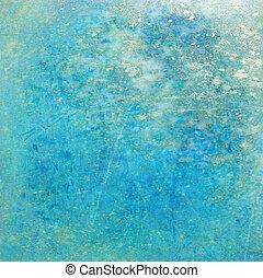 Glistening Turquoise grunge Background