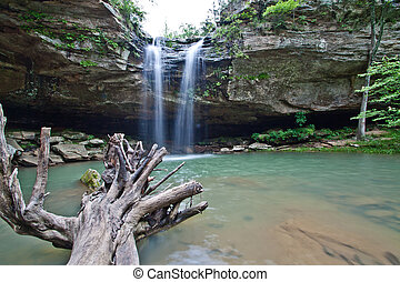 Cave Falls - waterfall at cave falls
