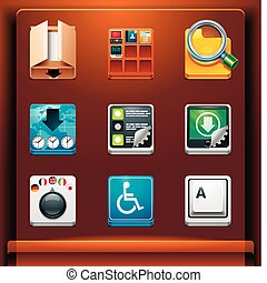 System tools - Mobile devices apps/services icons. Part 10...