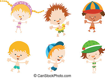Kids Summer Pack - Cute children set