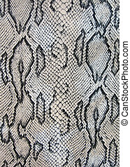 snake texture closeup - design in many frames, closeup macro...