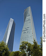 Cuatro Torres Business Area in Madrid