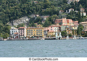 Varenna on Lake Como in Italy