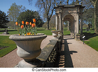 The Terrace at Trentham - Part of the Italian Gardens at...