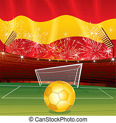 Spanish theme - Spanish celebrating background vector