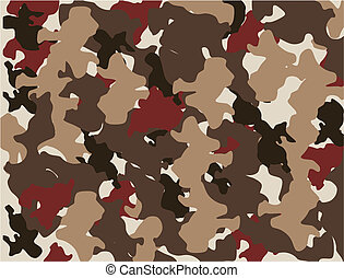 Camo Paper or Material