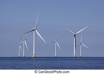 Offshore power - From a seabased wind power staion on the...