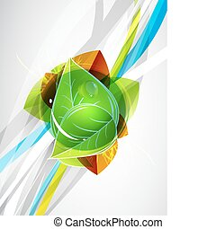 Vector color lines. Abstract vector background