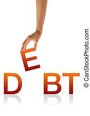 Debt - Hand