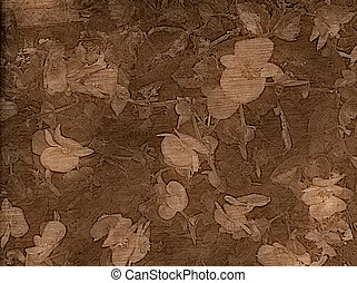 Old Fashioned Floral Background