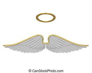 díszruhák, angyal