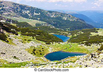 Lake Vidal and Calcescu in Parang mountains