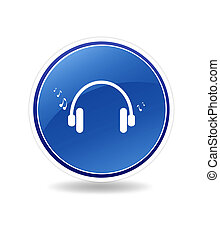 Listen Icon - High resolution graphic of an listen icon with...