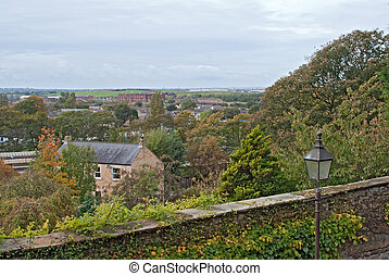 Lancaster city - View of Lancaster city, UK