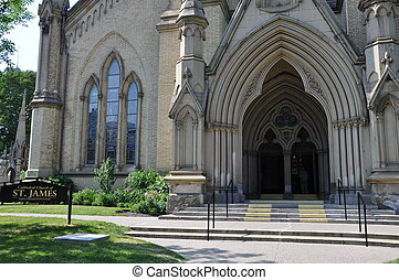Cathedral Church of St James in Toronto, Canada