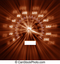 picture of speedometer