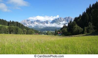 Wilder Kaiser, mountains in Austrian Alps