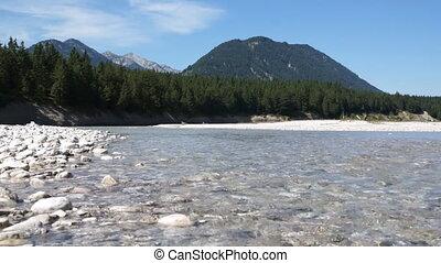 River in Alps