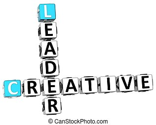 3D Leader Creative Crossword