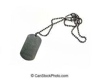 Dog tag - A dog tag is the informal name for the...