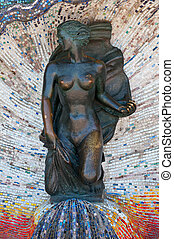 mermaid monument - High resolution image Monument to the...