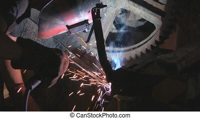 Welding - Steel worker welding