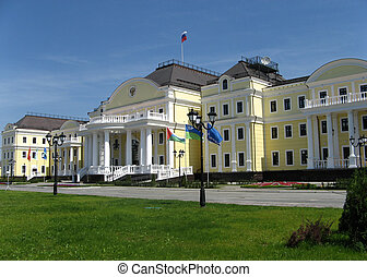 Manor in the center of Ekaterinburg, Ural, Russia