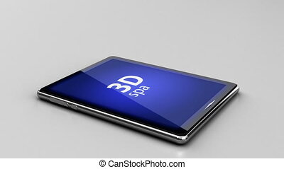 3D technology digital pad concept - 3D technology digital...
