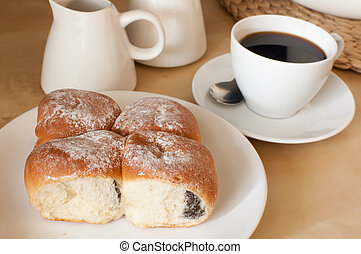 Stuffed Cakes and Coffee
