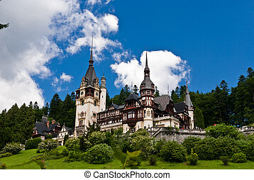 Peles castle - Peles Castle is a Neo-Renaissance castle...