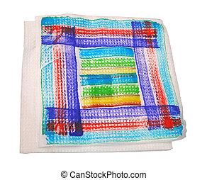 color serviette isolated, tissue diversity - color serviette...