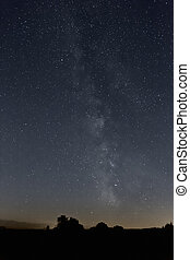 milky way stars - An image of the milky way stars