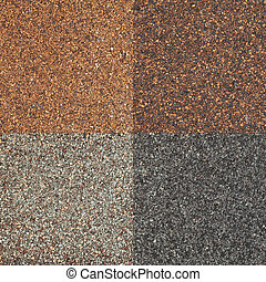 roof shingle texture - four textures of high impct asphalt...