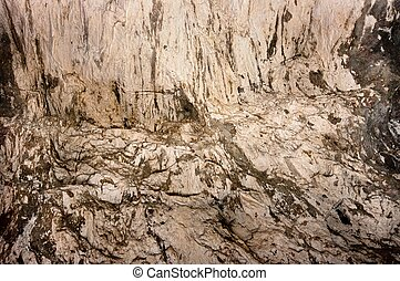 Rock formation inside a cave  - Rock formation inside a cave