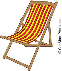 deckchair 01 - Deckchair for beach