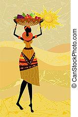 native African women