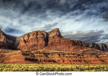 Vermillion Cliffs, Arizona - The Vermillion cliffs in rural...