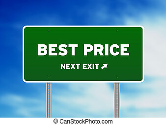 Best Price Highway Sign