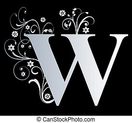 capital letter W