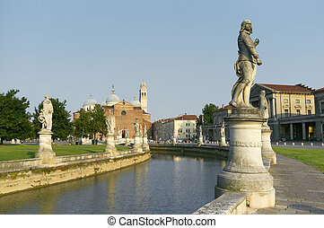 Prato della Valle - One of the best known symbols of italian...