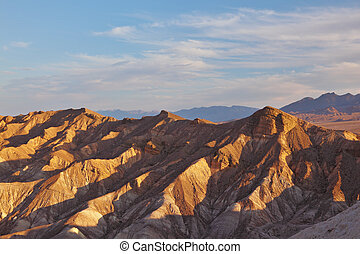 The  site of Death Valley in California