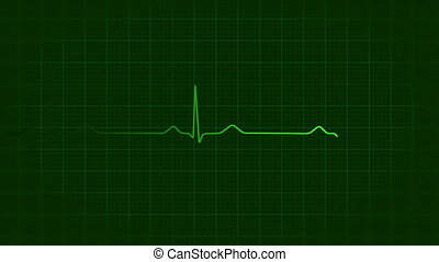 Ecg background loop, hd animation - Ecg background loop