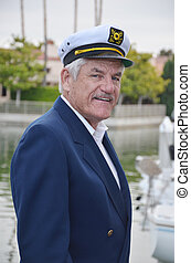Sailor Captain - Portrait of a seaman